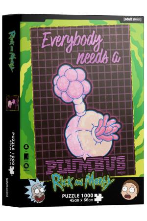 DC Comics Jigsaw Puzzle Plumbus (1000 pieces)