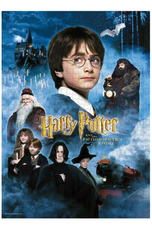Harry Potter Jigsaw Puzzle Harry Potter and the Sorcerer's Stone Movie Poster
