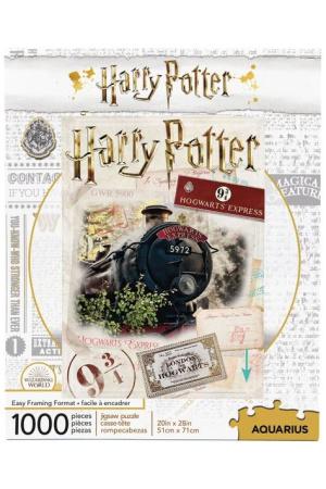 Harry Potter Jigsaw Puzzle Hogwarts Express Ticket (1000 pieces)