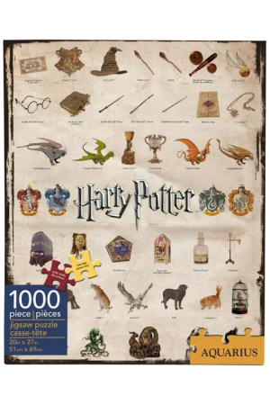 Harry Potter Jigsaw Puzzle Icons (1000 pieces)