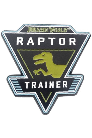 Jurassic World Pin Badge Raptor