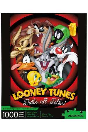 Looney Tunes Jigsaw Puzzle That's all folks (1000 pieces)