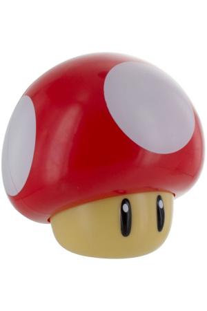 Super Mario Mini Light with Sound Mushroom 12 cm