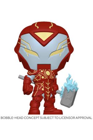 Marvel Infinity Warps POP! Vinyl Figure Iron Hammer 9 cm