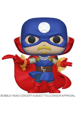 Marvel Infinity Warps POP! Vinyl Figure Soldier Supreme 9 cm