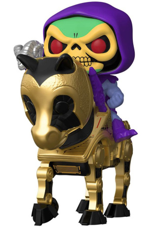 Masters of the Universe POP! Rides Vinyl Figure Skeletor w/Night Stalker 18 cm