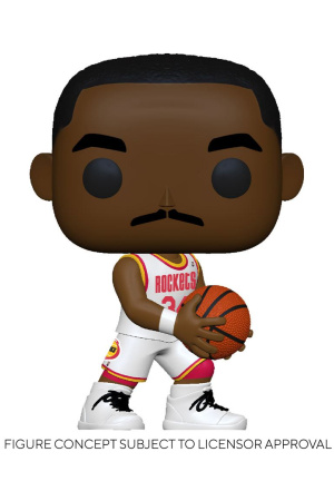NBA Legends POP! Sports Vinyl Figure Hakeem Olajuwon (Rockets Home) 9 cm