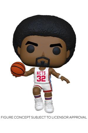 NBA Legends POP! Sports Vinyl Figure Julius Erving (Nets Home) 9 cm