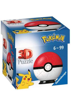Pokémon 3D Puzzle Pokéballs: Classic (54 pieces)