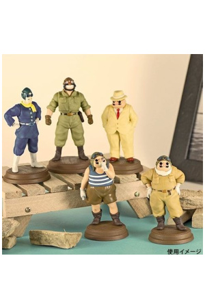 Porco Rosso Mini Figures Characters 5 cm Display (6)