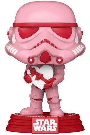 Star Wars Valentines POP! Star Wars Vinyl Figure Stormtrooper w/Heart 9 cm