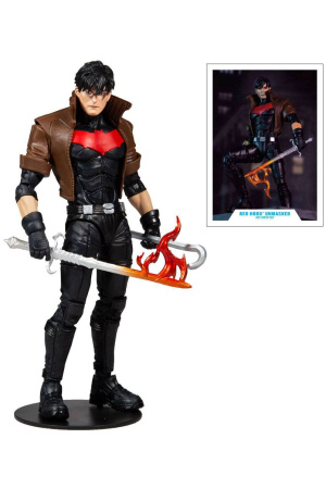 The New 52 DC Multiverse Action Figure Red Hood Unmasked (Gold Label) 18 cm