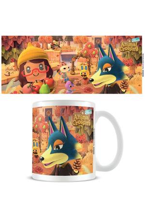 Animal Crossing Mug Autumn