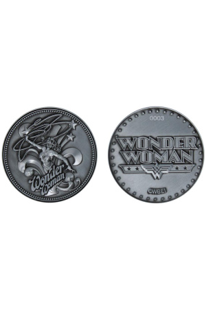 DC Comics Collectable Coin Wonder Woman Limited Edition
