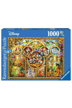 Disney Jigsaw Puzzle Best Disney Themes (1000 pieces)