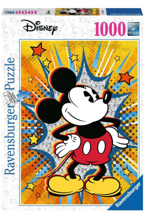 Disney Jigsaw Puzzle Retro Mickey Mouse (1000 pieces)