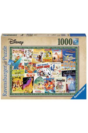 Disney Jigsaw Puzzle Vintage Movie Posters (1000 pieces)