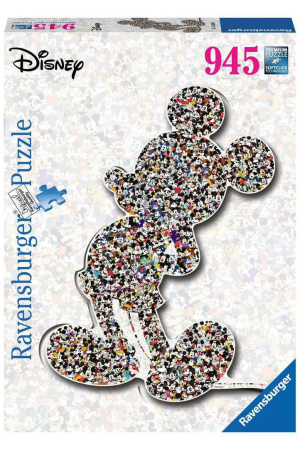 Disney Shaped Jigsaw Puzzle Mickey Mouse (945 pieces)