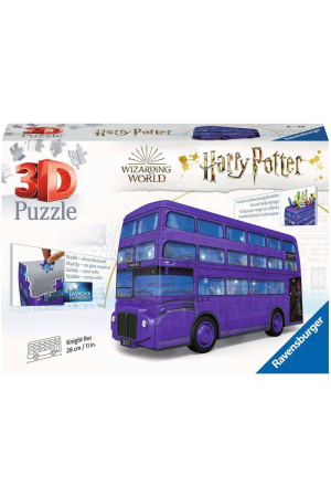 Harry Potter 3D Puzzle Knight Bus (216 pieces)