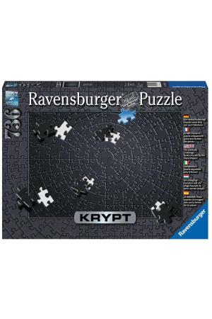 Krypt Jigsaw Puzzle Black (736 pieces)