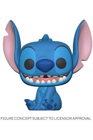 Lilo & Stitch POP! Disney Vinyl Figure Smiling Seated Stitch 9 cm