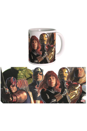 Marvel Mug The Avengers by Alex Ross