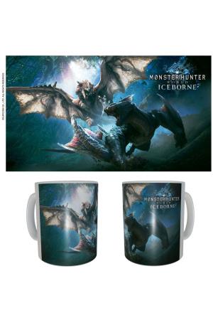 Monster Hunter Ceramic Mug Rathalos & Nargacuga