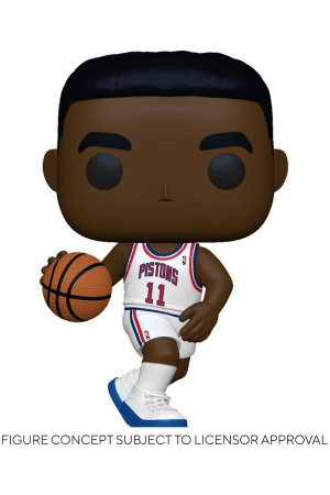 NBA Legends POP! Sports Vinyl Figure Isiah Thomas (Pistons Home) 9 cm