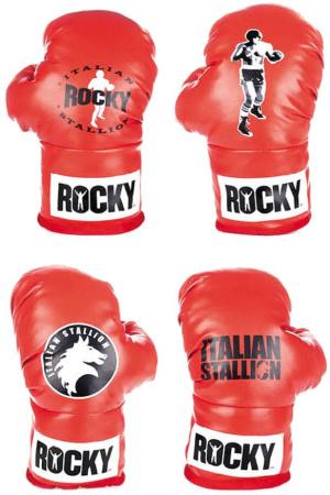 Rocky Plush Figures Boxing Gloves 30 cm Assortment (4)