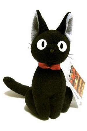 Studio Ghibli Plush Figure Jiji 20 cm