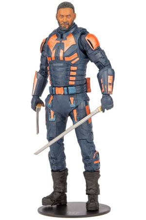 Suicide Squad Build A Action Figure Bloodsport (Unmasked) 18 cm