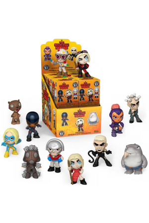The Suicide Squad Mystery Mini Figures 5 cm Display (12)