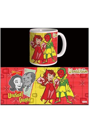 Wandavision Mug Unusual Couple