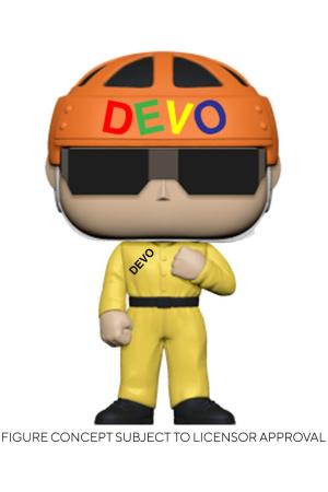 Devo POP! Rocks Vinyl Figure Satisfaction (Yellow Suit) 9 cm