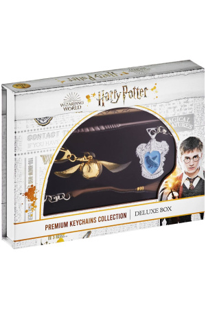 Harry Potter Keychains 6-Pack Deluxe Set A