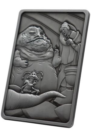 Star Wars Iconic Scene Collection Limited Edition Ingot Jabba the Hut