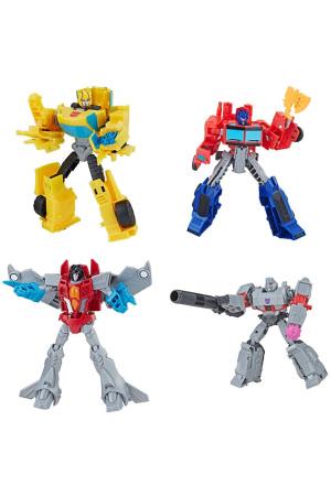 Transformers Buzzworthy Bumblebee Action Figure 4-Pack Warriors 14 cm