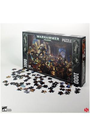 Warhammer 40K Jigsaw Puzzle Gulliman vs Black Legion (1000 pieces)