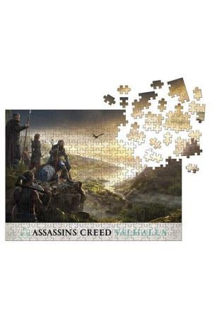 Assassin's Creed Valhalla Jigsaw Puzzle Raid Planning (1000 pieces)