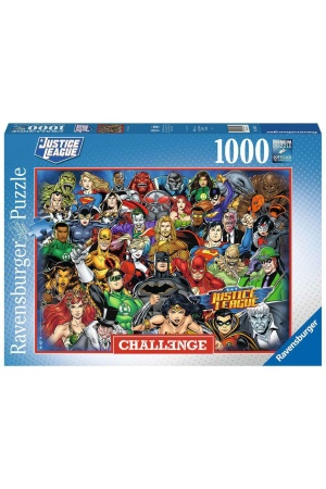 DC Comics Challenge Jigsaw Puzzle Justice League (1000 pieces)