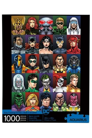 DC Comics Jigsaw Puzzle Faces (1000 pieces)