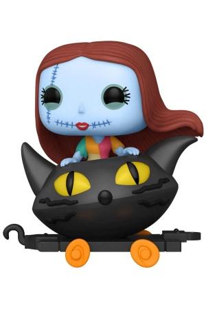 Nightmare before Christmas POP! Disney Train Cart Vinyl Figure Sally in Cat Cart 9 cm