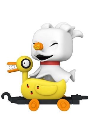 Nightmare before Christmas POP! Disney Train Cart Vinyl Figure Zero in Duck Cart 9 cm
