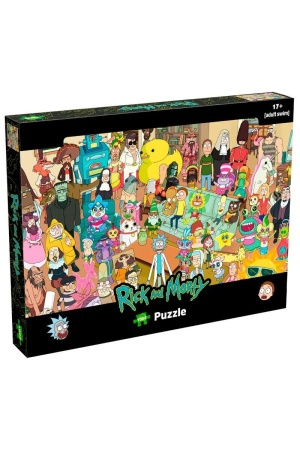 Rick and Morty Jigsaw Puzzle Characters (1000 pieces)