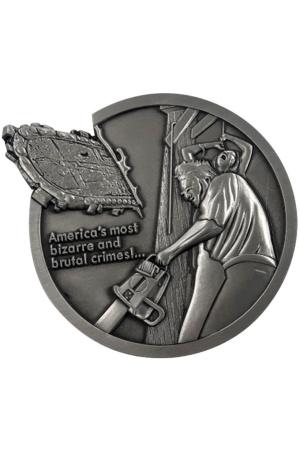 Texas Chainsaw Massacre Medallion Logo Limited Edition