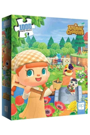 Animal Crossing Jigsaw Puzzle New Horizons (1000 pieces)