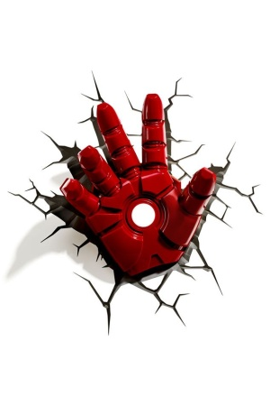 Avengers 3D LED Light Iron Man Hand