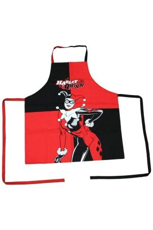 DC Comics cooking apron Harley Quinn