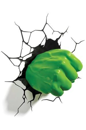 Marvel 3D LED Light Hulk Fist