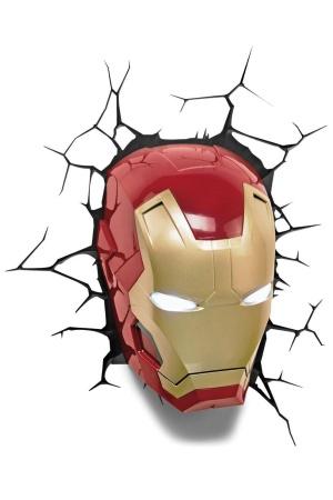Marvel 3D LED Light Iron Man